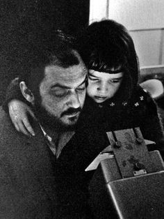 Kubrick and daughter