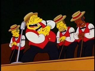 Classic Simpsons - The Be Sharps