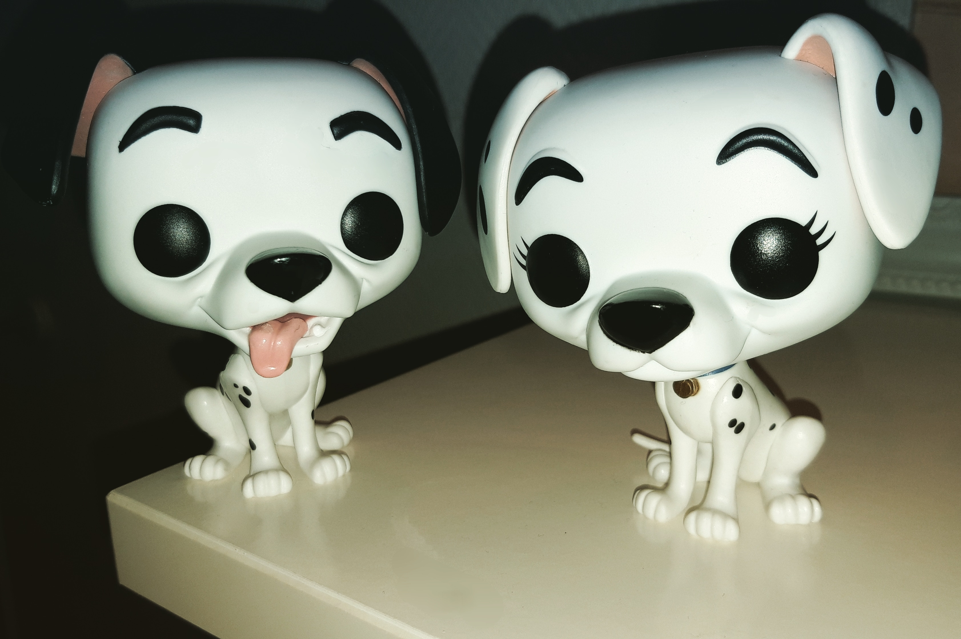 Limited edition Funko Pop! Vinyl Pongo & Perdita from Pop In A Box