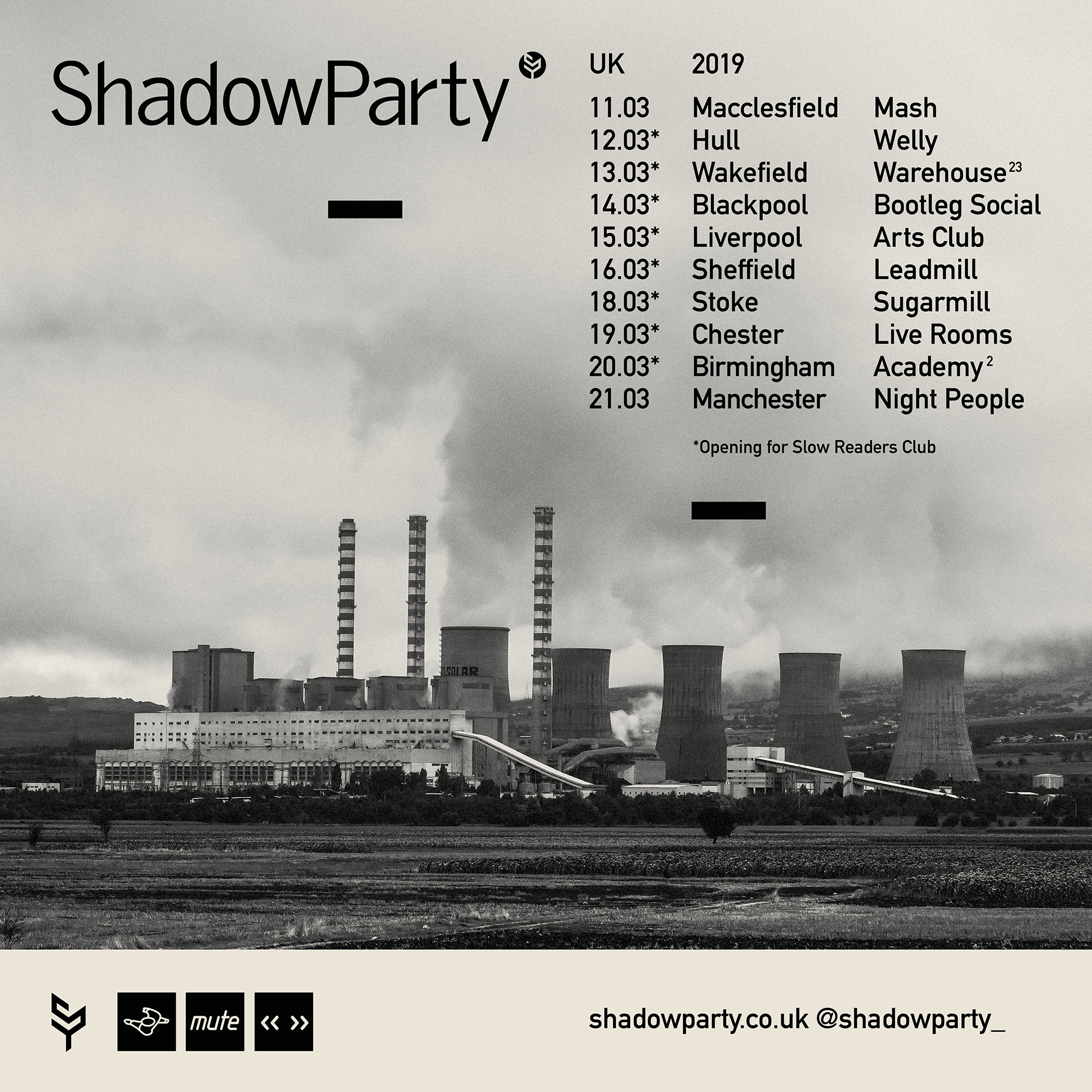 ShadowParty 2019 Tour