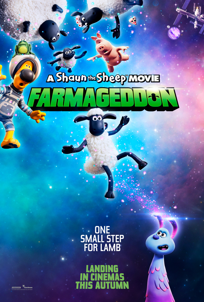 A Shaun the Sheep Movie: Farmageddon is set for nationwide release on Friday 18 October