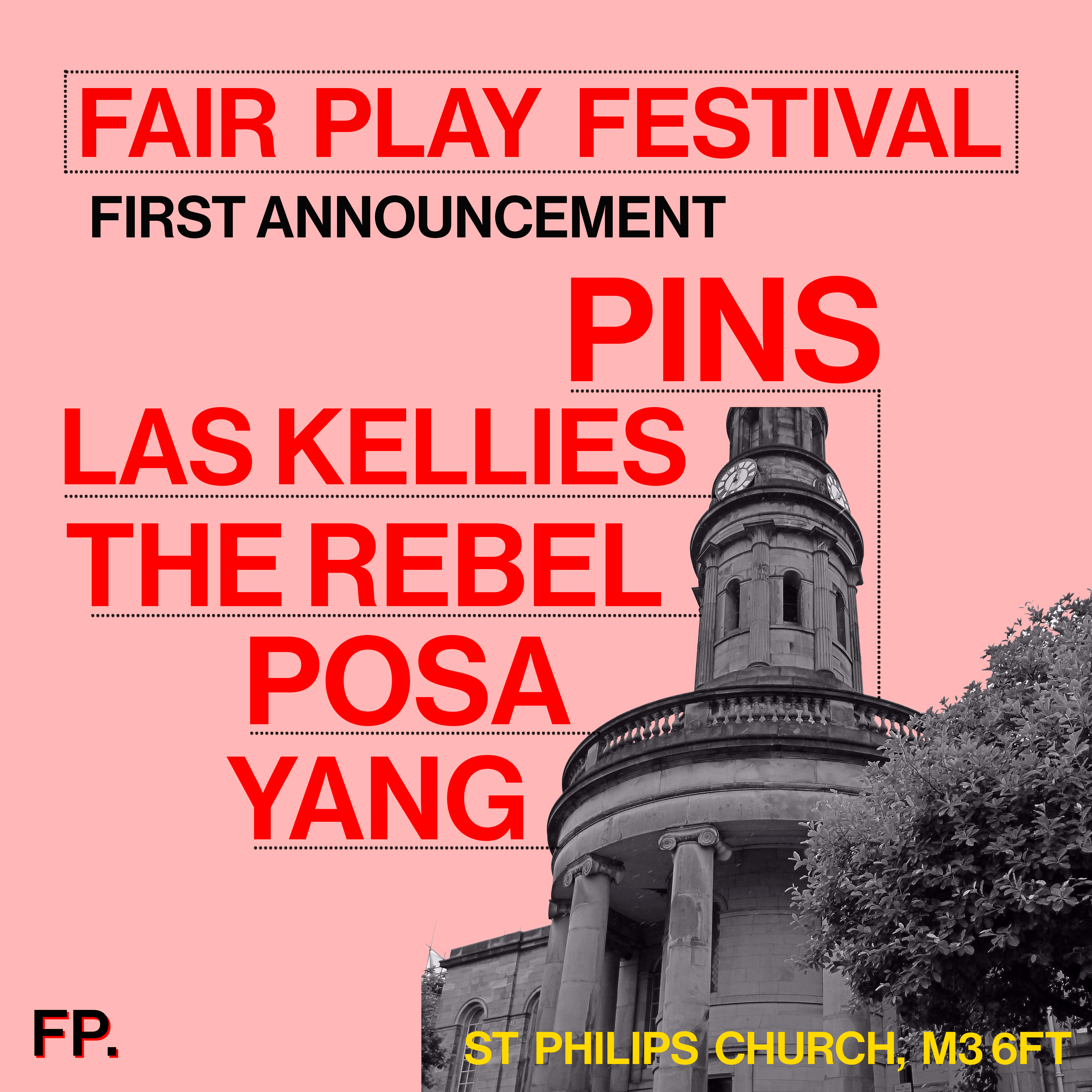 Faith Vern will be leading the band to Fair Play Festival in March 2020