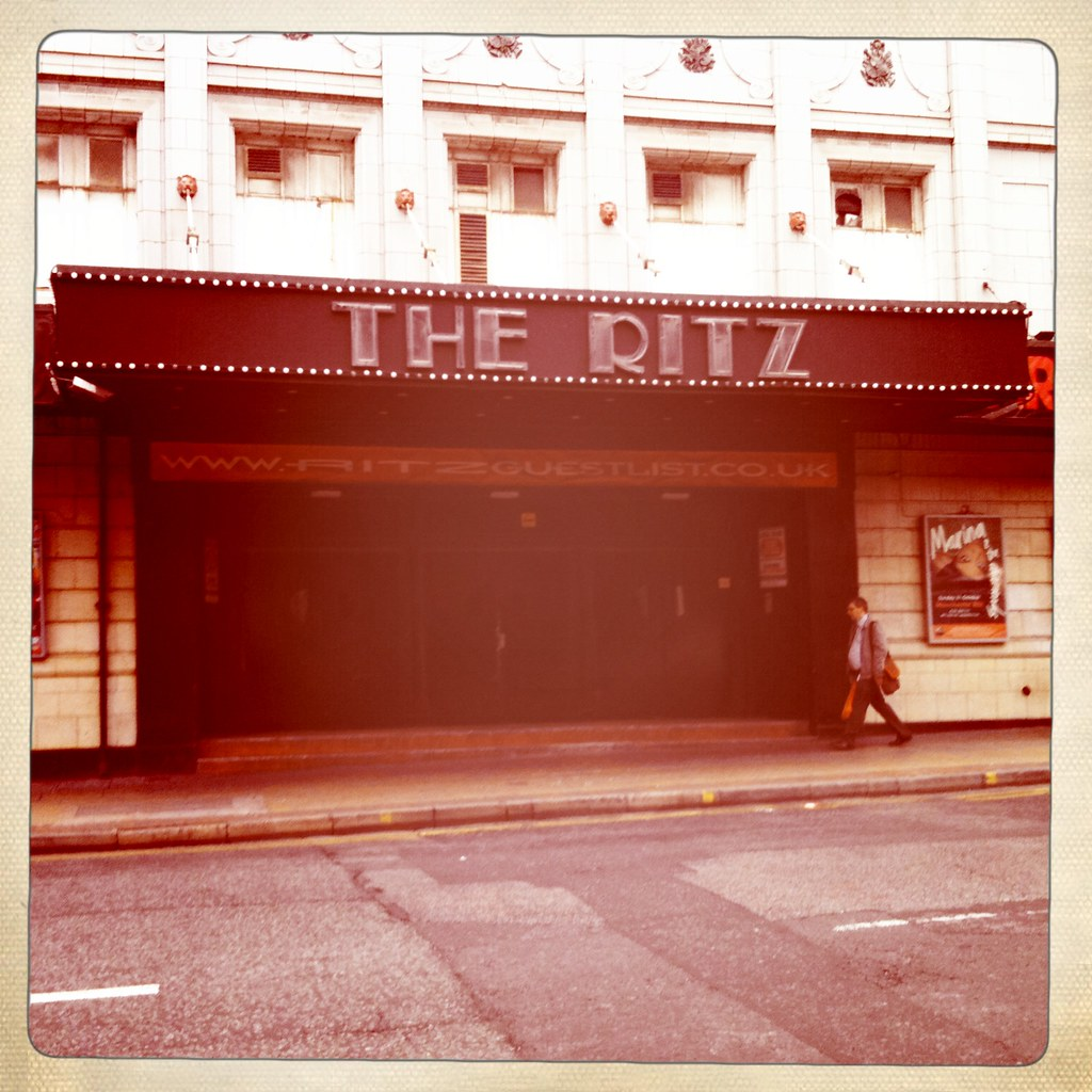 "PINS' Faith Vern chooses the ""beautiful"" Ritz as her favourite Manchester venue!"